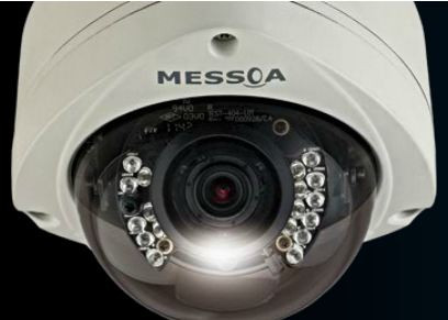 Messoa SDR437-HN5 VandalProof IR Dome Close Up