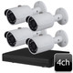 Dahua 4ch 4MP IR Bullet IP Camera System OEM-SD6