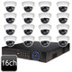 Dahua 16ch 4MP Dome 16 IP Camera System OEM-SD8