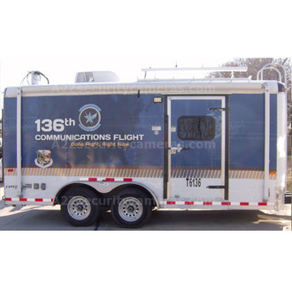 A2Z MCCT-E22 22ft Mobile Command Center Trailer