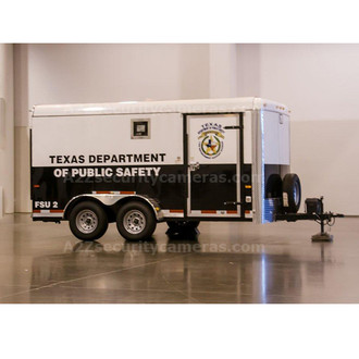A2Z MCCT-E16 16ft Mobile Command Center Trailer