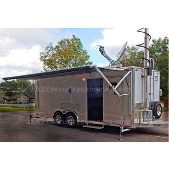 A2Z MCCT-E32 32ft Mobile Command Center Trailer