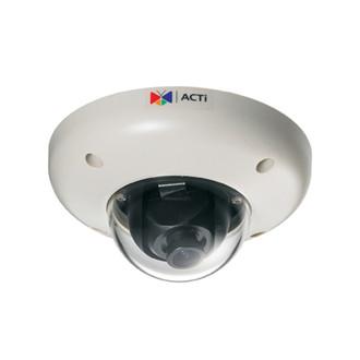 ACTi Megapixel Weatherproof Megapixel Vandal Proof Mini Network Dome Camera