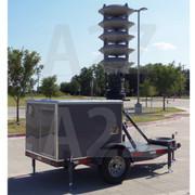 A2Z MCCT-PAA Emergency Public Address Acoustic Alert Trailer