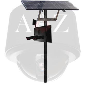 A2Z Solar Wireless UHD & HD License Plate Capture Camera Systems SS-LPC-W Black