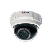 ACTi IR Infrared Megapixel IP Network Dome Security Cameras