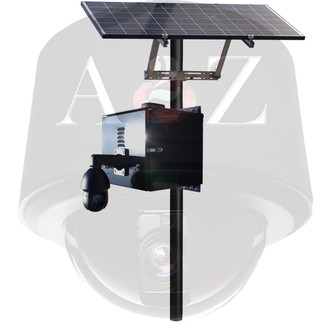 A2Z Solar 4G HD & UHD IR PTZ Camera Systems SS-IRPTZ-4G Black Finish