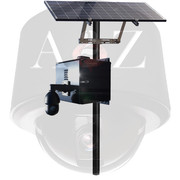 A2Z Solar 4G HD & UHD IR PTZ Camera Systems SS-IRPTZ-4G Black Finish