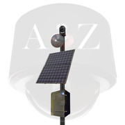 A2Z Solar Wireless Thermal IR Imager Pan-Tilt & Pan-Tilt-Zoom Multi-Sensor Camera Systems - Black Finish