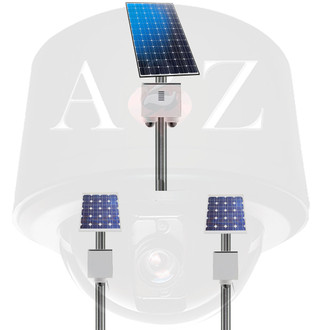 A2Z WiFi 4G Multi-System Solar Power Camera Systems SS-MPS for multi-site, multi-point deployments