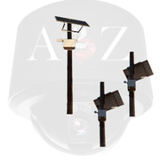 A2Z SS-MPS-AI Wireless Solar Powered A.I. Camera Systems Multi-System (Master and Clients)