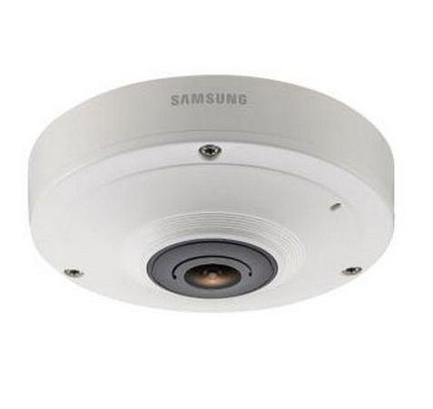 Samsung SNF-7010V 3MP 1080P HD Vandal 360 Fisheye IP Camera