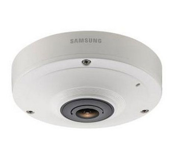 Samsung SNF-7010V 3MP 1080P HD Vandal 360 Fisheye IP Camera