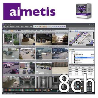 Aimetis Symphony SYM-SV-SL-S8 8ch NVR Software