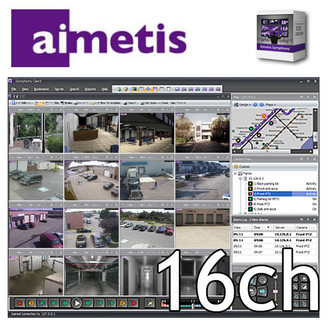 Aimetis Symphony 16 Channel NVR Software License Pack