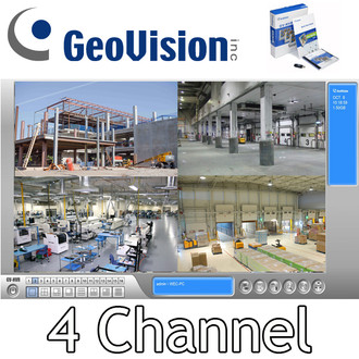 Geovision GV-NVR 4 Channel  NVr Software GV-NR004