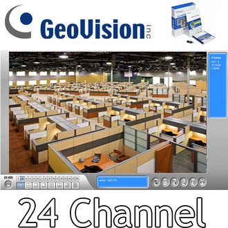 Geovision GV-NVR 24 channel NVR software