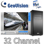 Geovision 32 Channel PC NVR System