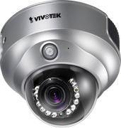 VIVOTEK FD8161 2 Megapixel HD 720p IR IP Dome Camera