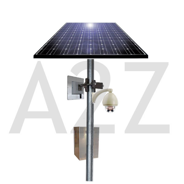 A2z Wireless 8 Megapixel 360 Degree Solar Power Camera System