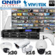QNAP Vivotek 48 channel Megapixel HD IP Security Camera System