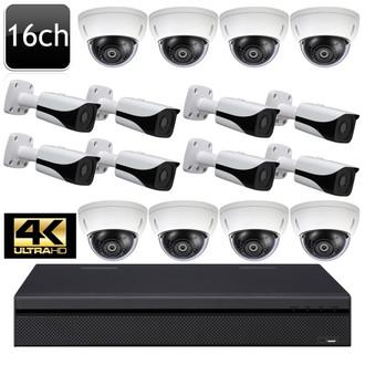 Dahua UHD 4K 16ch 16 Dome Bullet IP Camera System OEM-SD3