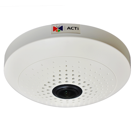 ACTi B55 10 Megapixel 360 Fisheye IP Camera