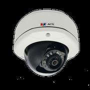 ACTi D72 3 Megapixel Vandal IR Dome IP Security Camera