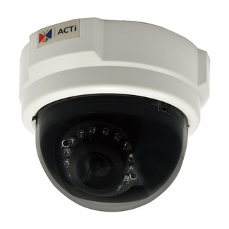 ACTi E52 1MP 720P Infrared Dome IP Security Camera