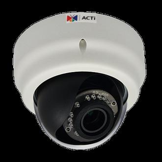 ACTi E64 1MP 720P Superior WDR IR Dome IP Security Camera
