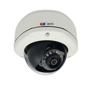 ACTi E72 3 Megapixel Vandal Proof WDR IR Dome IP Camera