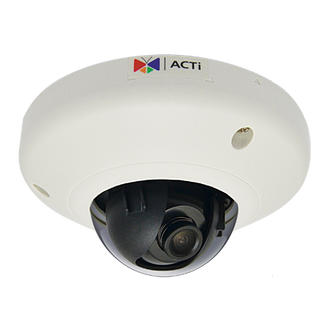 ACTi E91 1 Megapixel 720P HD WDR Mini Dome IP Security Camera