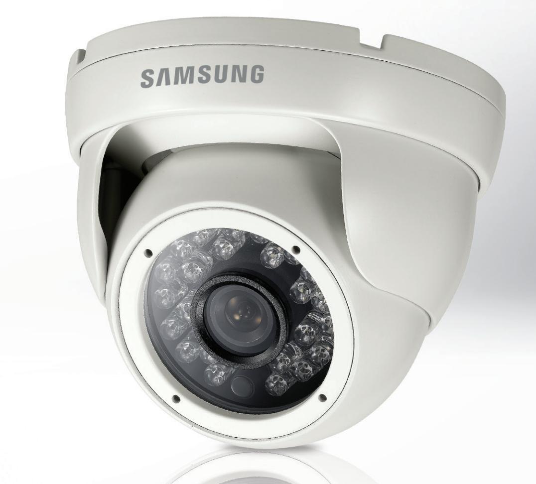 samsung scd 2021r mini ir dome cctv security camera. Black Bedroom Furniture Sets. Home Design Ideas