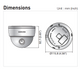 Samsung SCD-3083 unit size