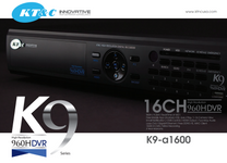 KTNC K9-A1600 960H DVR 16ch Highlights