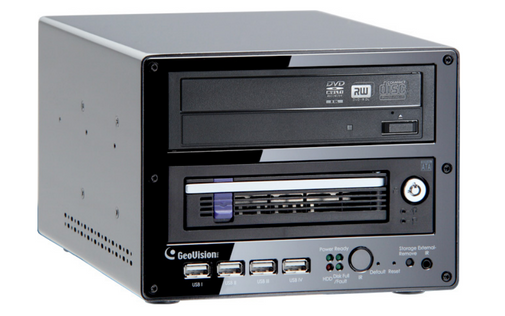 Geovision GV-LX8CD2W GV-Compact DVR V3 8 channel 1 HDD Bay - 1 DVD System