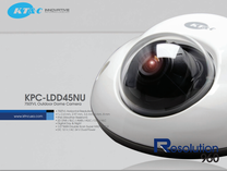 KT&C KPC-LDD45NU 960H Mini Vandal Dome Security Camera 750TVL