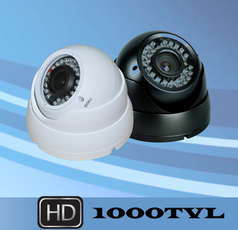 TruView 1000TVL VariFocal IR Ball Security Cameras AZEC10V9ES