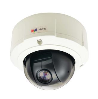 ACTI B94 1.3MP Mini PTZ Vandal Dome IP Security Camera