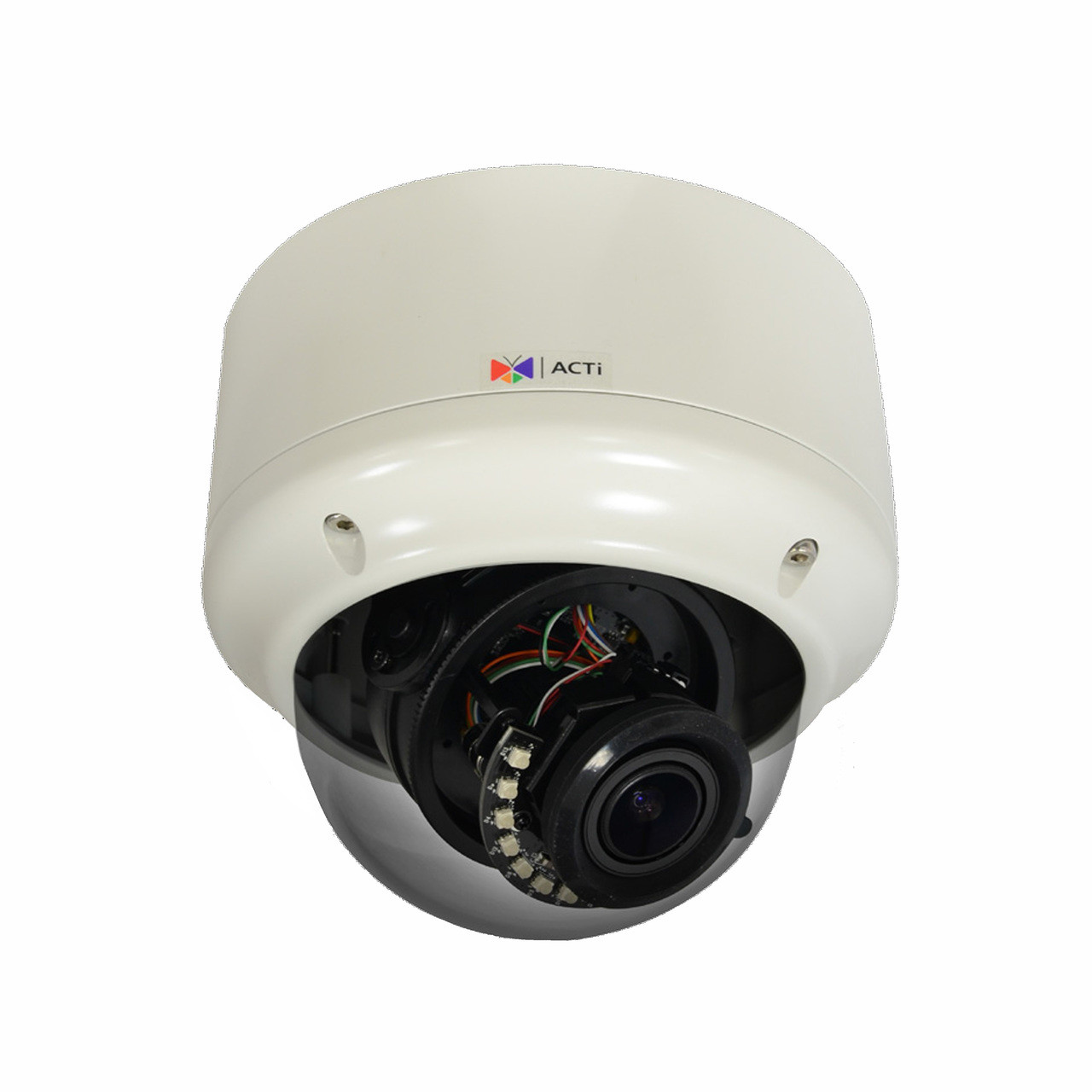 ACTi A82 H 265 5MP IR Vandal Dome IP Camera