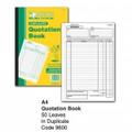 OFFICELINE #9600 A4 QUOTE Book Duplicate Carbonless