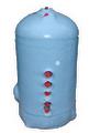 "600 (24"") x 350 (14"") 10 Gallon Twin Coil Marine Calorifier"
