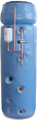 """160L 1450 (57"""") x 450 (18"""") Direct Open Vented Boiler (OVB) Thermal Store Combination"""