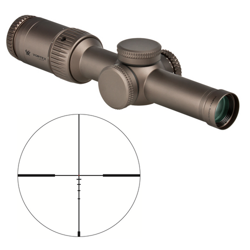Vortex Gen2-E Razor 1-6x Enhanced Scope