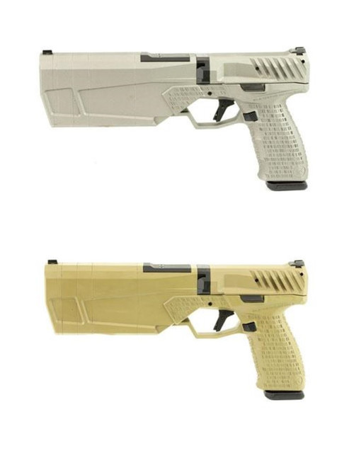 SilencerCo Maxim 9 Integrally Suppressed Pistol (FDE & Gray)
