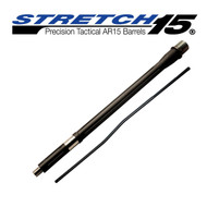 STRETCH 15 Fluted AR15 Barrel (Graphite Black)
