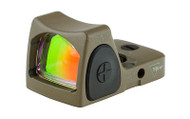 Trijicon RMR FDE Adjustable (6.5 MOA) - Front, Left