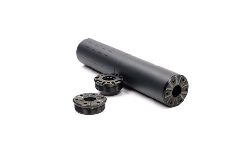 V Seven Hybrid Suppressor Front Cap (Back cap sold separately) Suppressor not included.