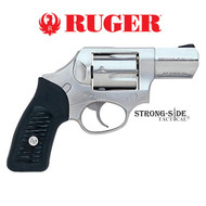 """RUGER SP101 Hammerless Model 05720 2.25"""" Stainless .357 MAG"""