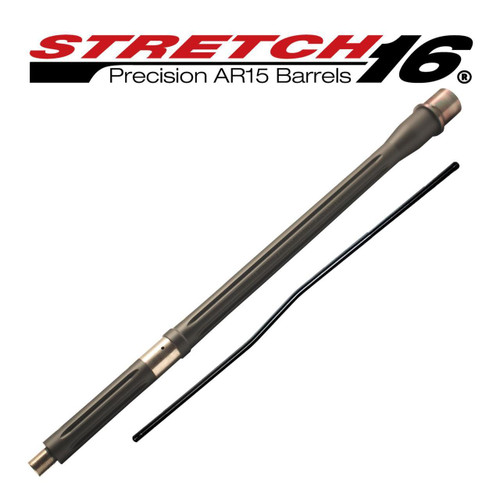 STRETCH 16 Fluted AR15 Barrel (Sniper Grey)
